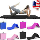 "6'x2'x2""Gymnastics Yoga Mat Fitness Folding Stretching Exercise Non-Slip Pad Gym"