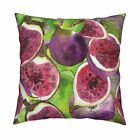 Skillshare Whimsical Watercolor Throw Pillow Cover w Optional Insert by Roostery