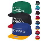 NBA Mitchell & Ness Classic Script Throwback Snapback Hat Caps Collection on eBay