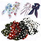 50'S Flower Dots Bow Knot Streamer Scrunchies Hair Ring Hair tie Ponytail Holder