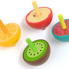 Children Classical Cartoon Fruit Shape Spinning Top Leisure Wooden Toy Gifts