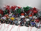 Set of 6 NFL Football Christmas Tree  Holiday Mini Plastic helmet Ornament $14.99 USD on eBay