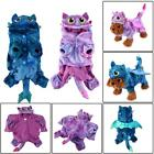 Lovely Pet Dog Warm Coral Velvet Costumes Fly Dragon Halloween Costume Clothes