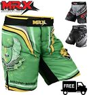 Muay Thai Shorts Grappling Fight Kick Boxing Mens MMA Martial Arts UFC Trunks