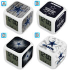 Dallas Cowboys LED Color Changing Digital Alarm Clock