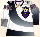 WAYNE GRETZKY BURGER KING 1996 LOS ANGELES KINGS MITCHELL AND NESS JERSEY NEW