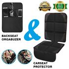 Luxury Car Seat Protector Kick Mat Maximum Padding for Child & Infant | Cushions