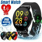 Waterproof Sport Smart Watch Blood Pressure Heart Rate Monitor for iOS Android image