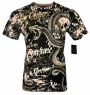 XTREME COUTURE by AFFLICTION Men T-ShirtT BLACKTOOTH Skull Biker MMA UFC S-4X$40