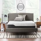 LUCID 12 Inch Bamboo Charcoal Memory Foam Hybrid Mattress - Twin Full Queen King image
