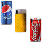 Popular Soft Drinks Beer Coca Cola Pepsi cover cases skins iPhone X XS $5.04  on eBay