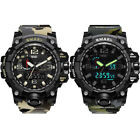 Fashion Camo Military Men Chronograph Fluorescence Analog Sport Digital Watch US