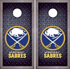 Buffalo Sabres Cornhole Skin Wrap NHL Hockey Luxury Decal Vinyl Sticker DR407 $59.99 USD on eBay