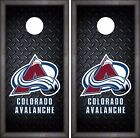 Colorado Avalanche Cornhole Skin Wrap NHL Luxury Decal Vinyl Sticker DR411 $39.99 USD on eBay