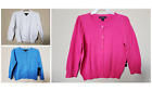 NWT - GEORGE - GIRL'S SWEATER CARDIGAN - EXTRA BUTTON INCLUDED - SIZE: XS - XL
