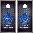 Toronto Maple Leafs Cornhole Skin Wrap NHL Luxury Decal Vinyl Sticker DR428 $59.99 USD on eBay