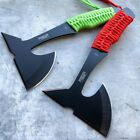 """9"""" Zombie Tactical Fixed Blade Throwing Tomahawk Axe Hatchet Hunting Knife NEW"""