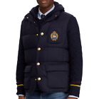 Polo Ralph Lauren Men Vtg Preppy Bullion Crest Virgin Wool 750 Down Jacket Vest