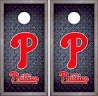 Philadelphia Phillies Cornhole Skin Wrap MLB  Luxury Decal Vinyl Sticker DR452 on Ebay