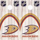 Anaheim Ducks Cornhole Skin Wrap NHL Hockey Wood Decal Vinyl Sticker DR462 $59.99 USD on eBay