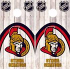 Ottawa Senators Cornhole Skin Wrap NHL Hockey Wood Decal Vinyl Sticker DR498 $39.99 USD on eBay