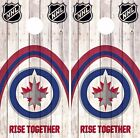 Winnipeg Jets Cornhole Skin Wrap NHL Hockey Wood Decal Vinyl Sticker DR4516 $39.99 USD on eBay