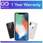 Apple iPhone X - 64GB 256GB Space Gray  Silver Unlocked AT&T T-Mobile Sprint