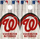 Washington Nationals Cornhole Skin Wrap MLB Game Decal Vinyl Sticker Logo DR573 on Ebay