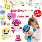 HOT! US Baby Shark Plush Singing Toys Music Doll English Song Gift Stuffed Plush