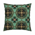 Bohemian Gypsy Nomad Boho Throw Pillow Cover w Optional Insert by Roostery