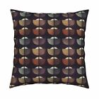 Noah Nature Earth Boat Cushion Throw Pillow Cover w Optional Insert by Roostery