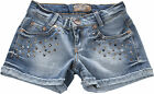 BLUE EFFECT Jeans Short Nieten denim NEU!!! MEGA COOL!!  122 bis 176 f. Sommer
