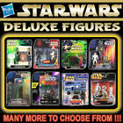 "HASBRO STAR WARS DELUXE 3¾"" Action Figure Series (3.75 Inch) $27.63 USD on eBay"