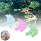 Внешний вид - 1 Pair Silicone Hand Swimming Fins Flipper Swim Palm Finger Webbed  Paddle Glove