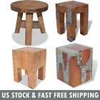 Handmade Vintage Antique Wood Stool Wooden Outdoor Garden Stools Home Furniture