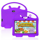 "XGODY Android 8.1 7"" 16GB Tablet PC Dual Camera Quad-core for Kids Bundle Case"