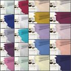 Easy Care Plain Dyed Extra Deep 40'' Fitted Bed Sheet Percale All Sizes 21 Colr  image
