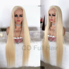 Long Straight Light Blonde Wigs Full Lace Wigs Virgin Brazilian Human Hair Wigs