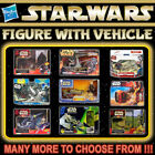 """HASBRO STAR WARS Small Vehicle with 3¾"""" Action Figure Series (3.75 Inch) $35.2 USD on eBay"""
