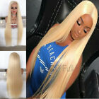 Straight Light Blonde 613# Wigs Full Lace Wigs Virgin Brazilian Human Hair Wigs