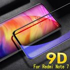 For Xiaomi Redmi Note 7 Full Cover 9D Curved Tempered Glass Screen Protector d6
