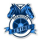 """Teamsters """" Retired """" Precision Cut  Decal"""