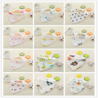 Cotton 8 Layers Newborn Baby Bib Saliva Towel Bibs Burp Cloth Infant Toddler Bib
