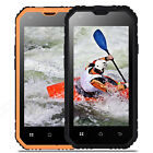 Unlocked Rugged Smartphone Waterproof  IP68 Android 6.0 Cell Phone 4Core 3G 2SIM