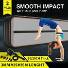 20FT Air Track Floor Home Gymnastics Tumbling Yoga Mat Inflatable Airtrack GYM P image