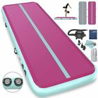 20Ft Air Track Floor Tumbling Inflatable Gym Mat gymnastic AirTrack Fitness1INCH image