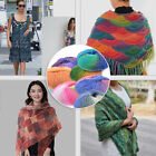 Knitting Wool Roll Skein Yarn Wool Colorful Yarn Knitting Crochet DIY Scarf Shoe