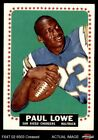 1964 Topps #165 Paul Lowe Chargers VG $14.5 USD on eBay