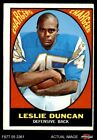 1967 Topps #131 Speedy Duncan Chargers Jackson St 3 - VG $12.5 USD on eBay