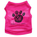 Dog Shirt Vest Pet Clothes Puppy Cat T shirt for chihuahua yorkie maltese teacup